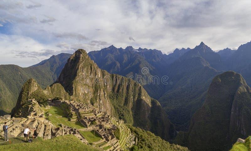 Machu Picchu in Peru - lost city of Inca. Indigenous, cusco, cloud, forest, architecture, scenic, culture, america, landmark, scenery, civilization, mystery stock photography