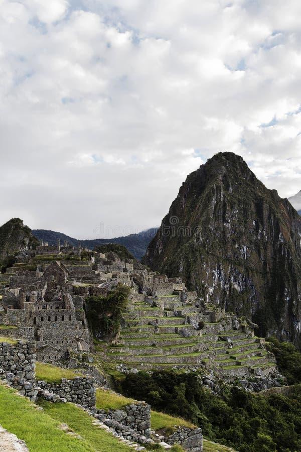 Machu Picchu Peru South America Walls And strukturer arkivfoton