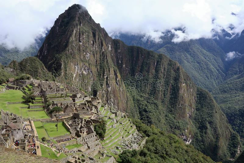 Machu Picchu Peru stock images