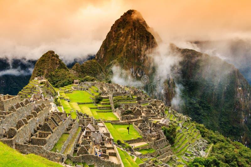 Machu Picchu, Peru. royalty free stock photos