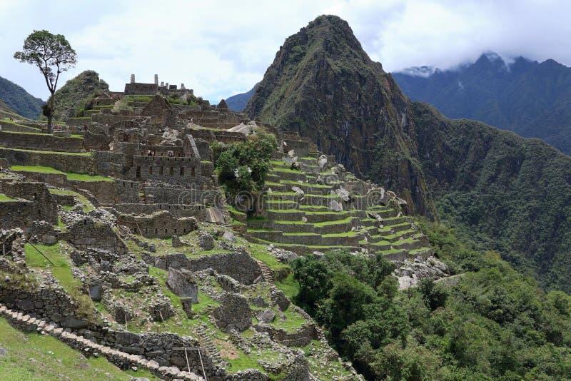 Machu Picchu Peru View fotografia de stock