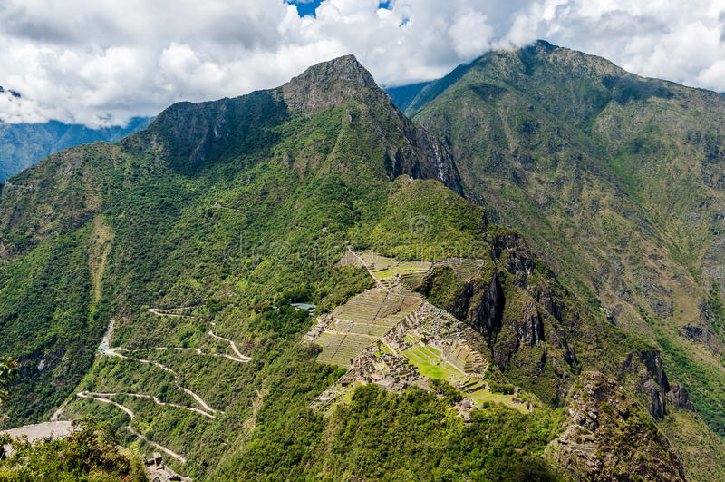 Machu Picchu. Peru stock photography