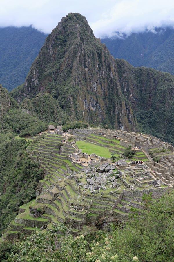 Machu Picchu Peru View stock image