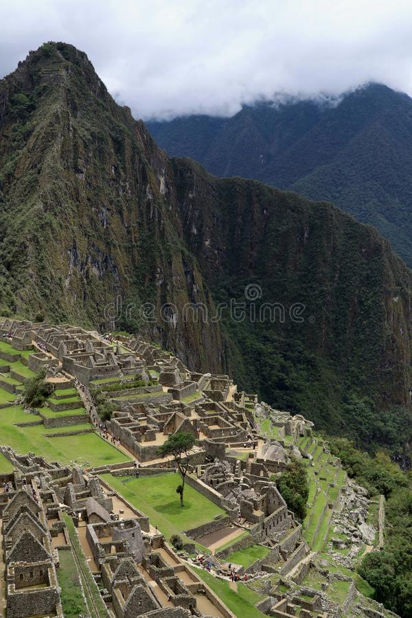 Machu Picchu Peru View stock images