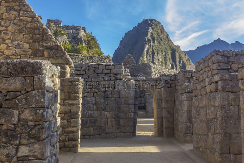 Machu Picchu ruine Cuzco Pérou image libre de droits