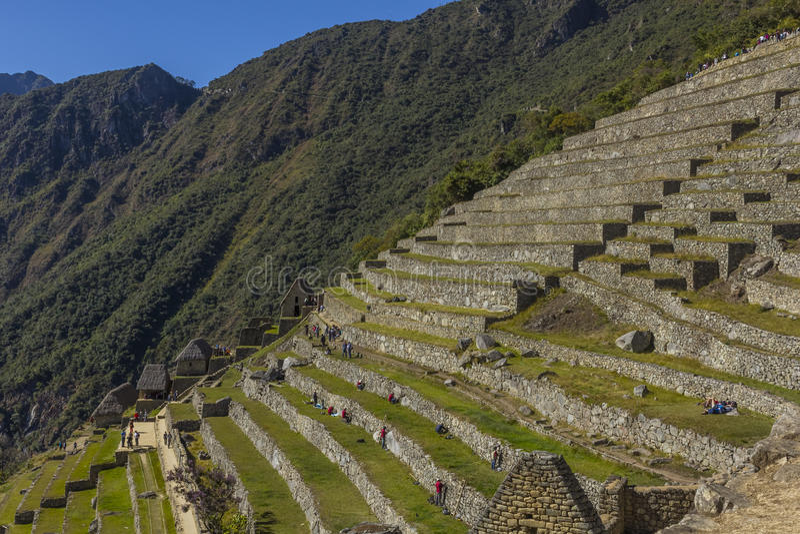 Machu Picchu ruine Cuzco Pérou photographie stock libre de droits