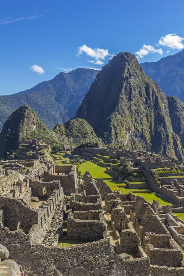 Machu Picchu ruine Cuzco Pérou photographie stock
