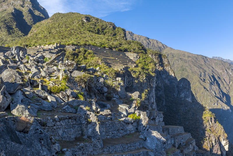 Machu Picchu ruine Cuzco Pérou photo libre de droits