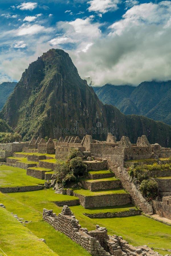 Machu Picchu Ruinen lizenzfreies stockfoto