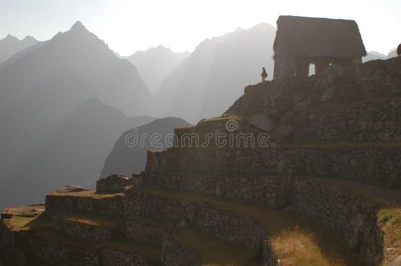 Download Machu Picchu ruins stock photo. Image of stonework, mountains - 196936