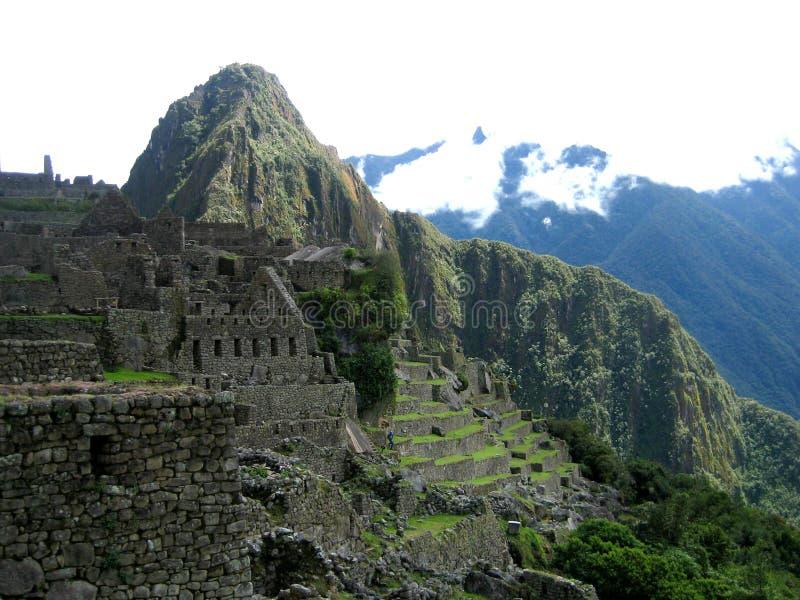 Machu Picchu van het zuidoosten royalty-vrije stock afbeeldingen