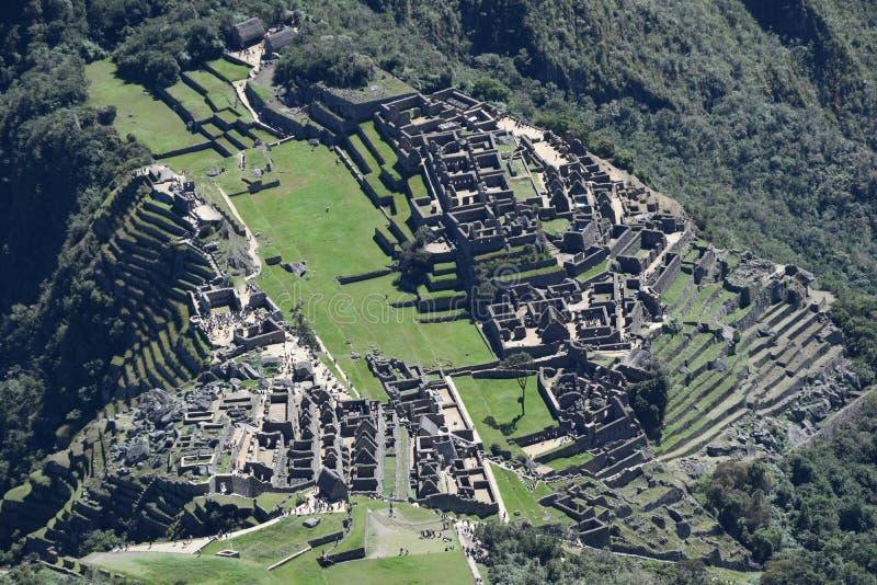 Machu Picchu - verlorene Stadt der Inkas lizenzfreies stockbild
