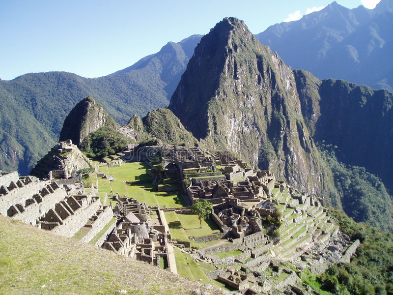 Machu Pichu royalty-vrije stock afbeeldingen