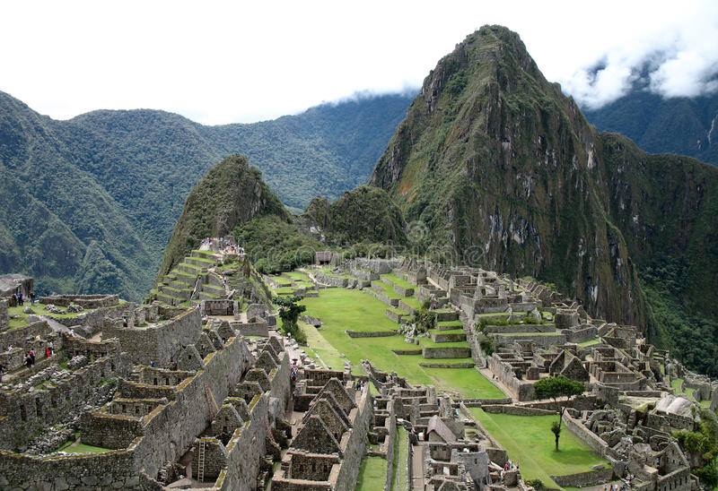 Machu Pichu foto de stock royalty free