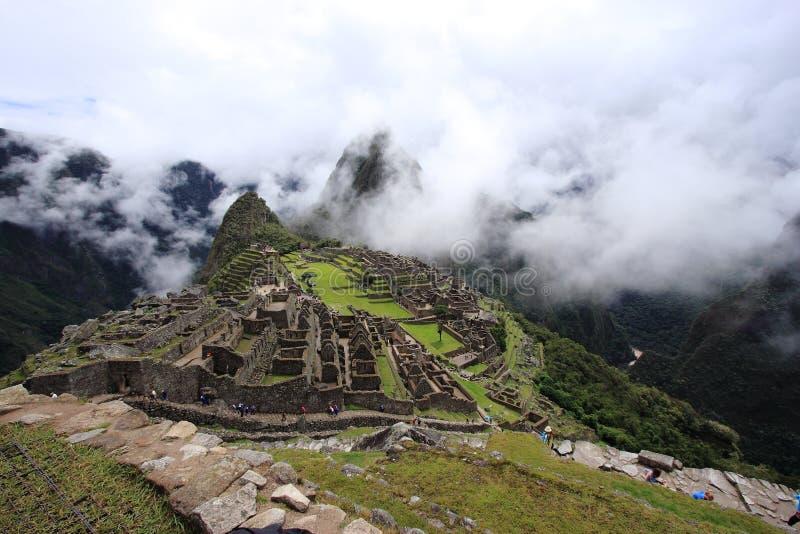 Machu Pichu arkivfoto