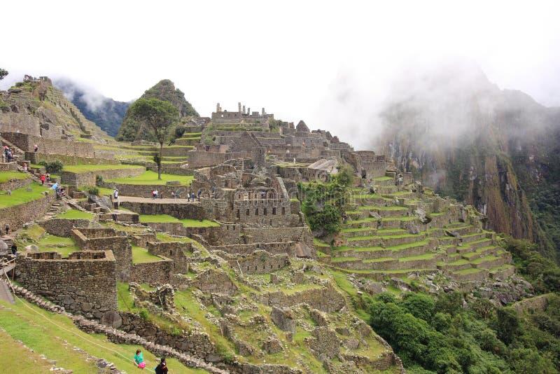 Machu Pichu royaltyfria bilder