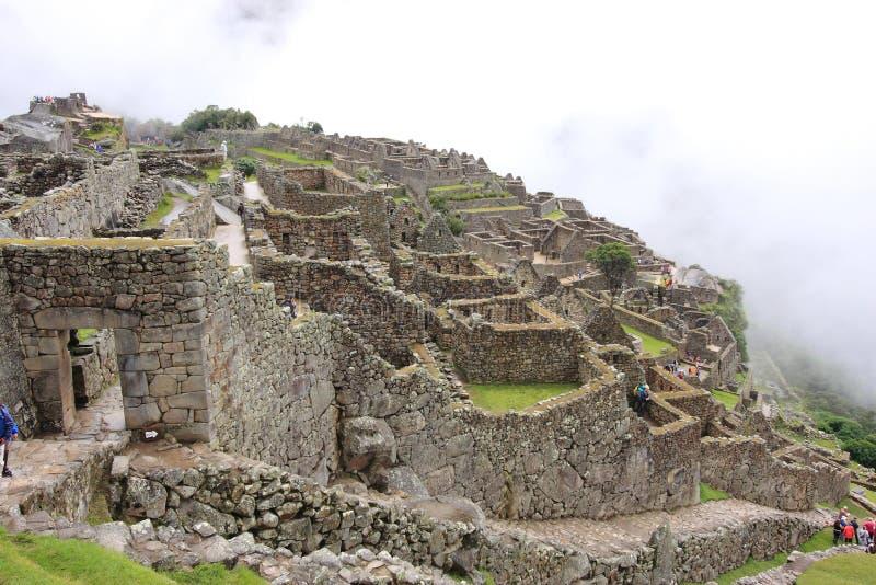 Machu Pichu fotografering för bildbyråer