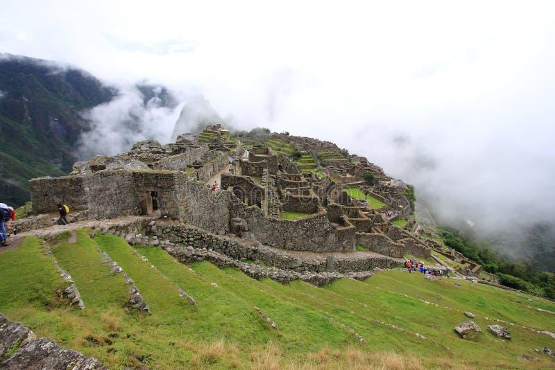 Machu Pichu royaltyfri bild