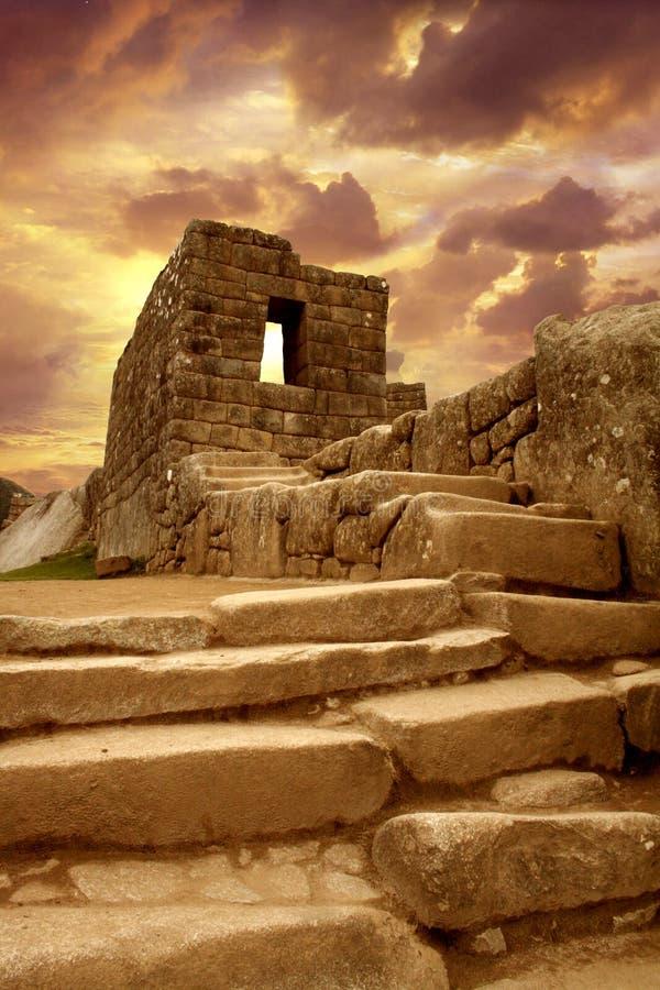 Machu Pichu Royalty-vrije Stock Foto