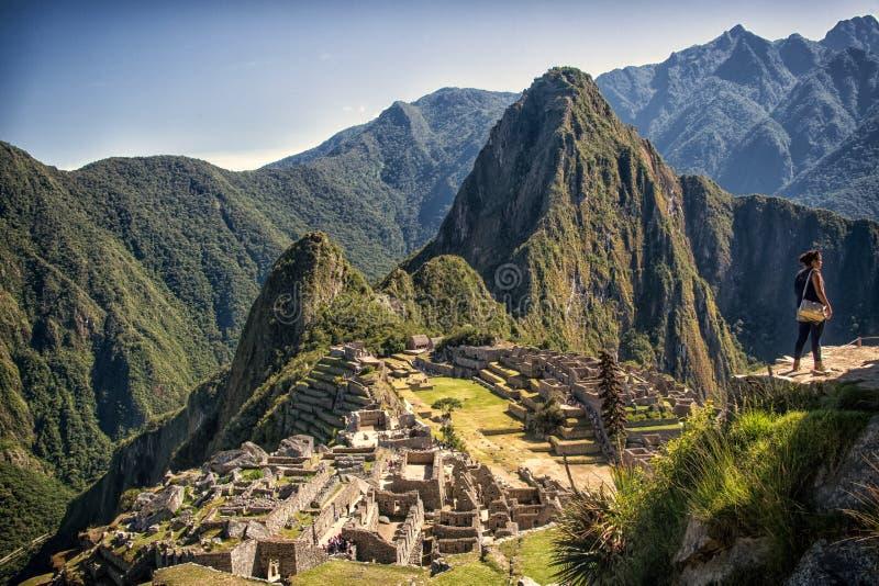 Machu Pichu royaltyfri foto