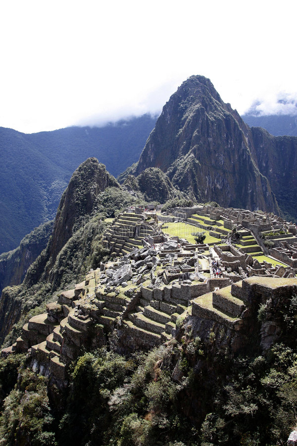 Machu Pichu, Peru fotos de stock royalty free