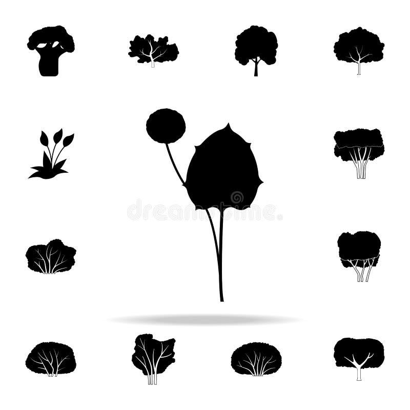 macierzysta i macosza ikona Rośliien ikon ogólnoludzki ustawiający dla sieci i wiszącej ozdoby royalty ilustracja