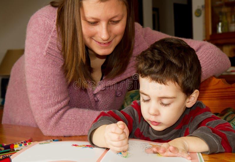 macierzysty dziecko obraz zdjęcia stock
