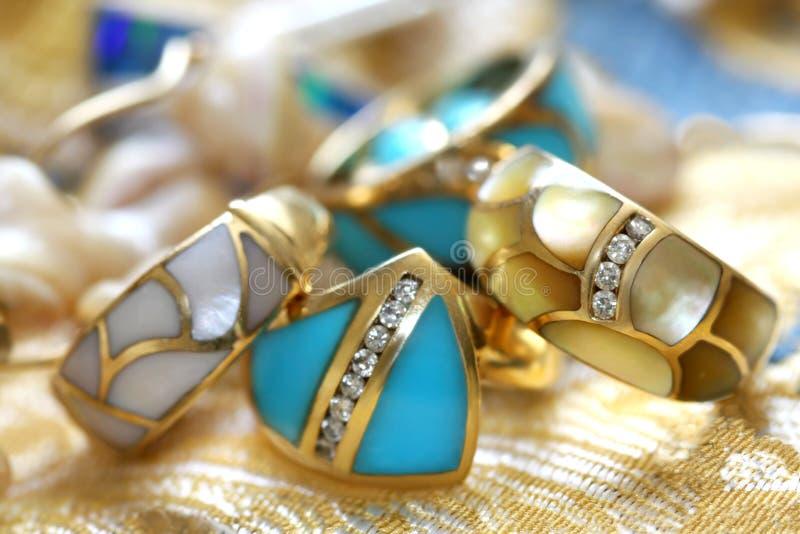 macierzysty perl dzwoni turkus obrazy royalty free