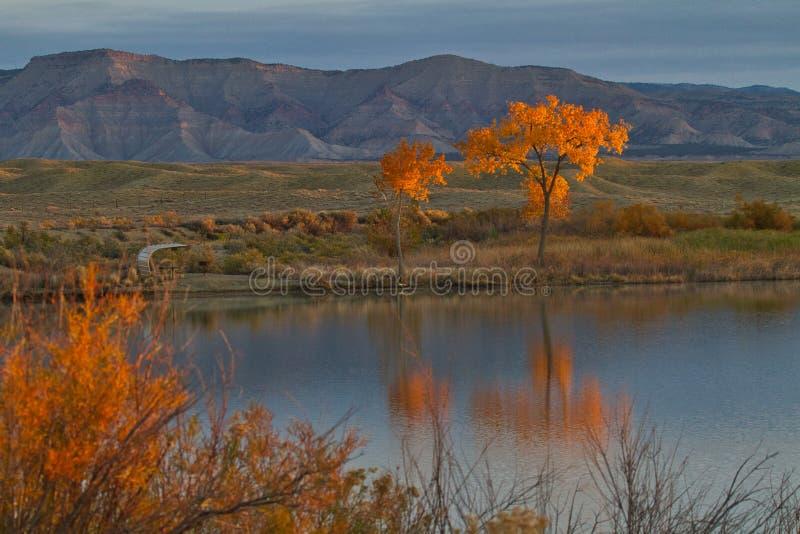 Mack Mesa Crimson fotografia stock libera da diritti