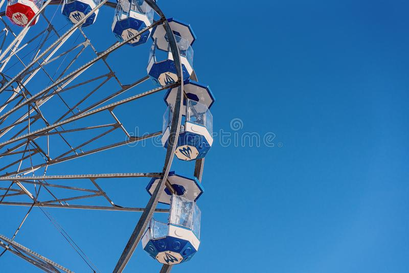 Ferris Wheel Ride High In The Sky royalty free stock photos