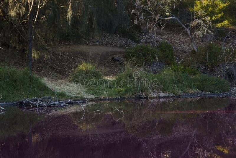 Mackenzie cae parque nacional Australia de los grampians fotos de archivo