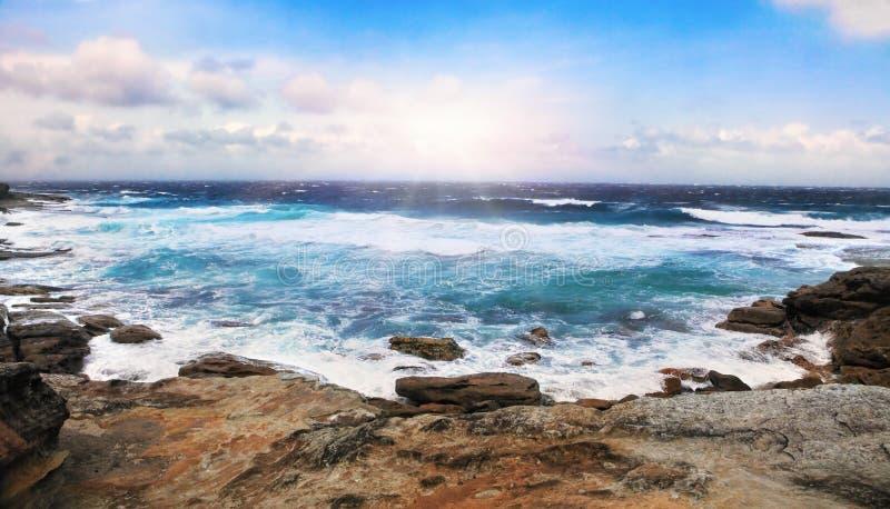 Mackenzies-Bucht, Australien lizenzfreies stockfoto