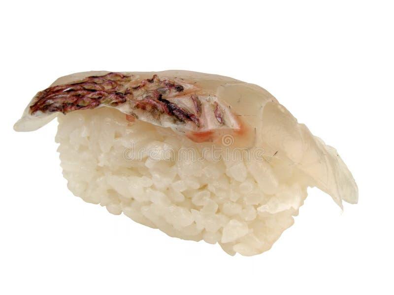 Mackerel sushi royalty free stock photography