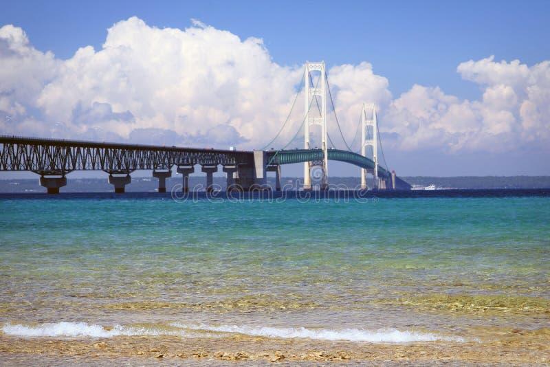mackinac моста стоковые изображения rf