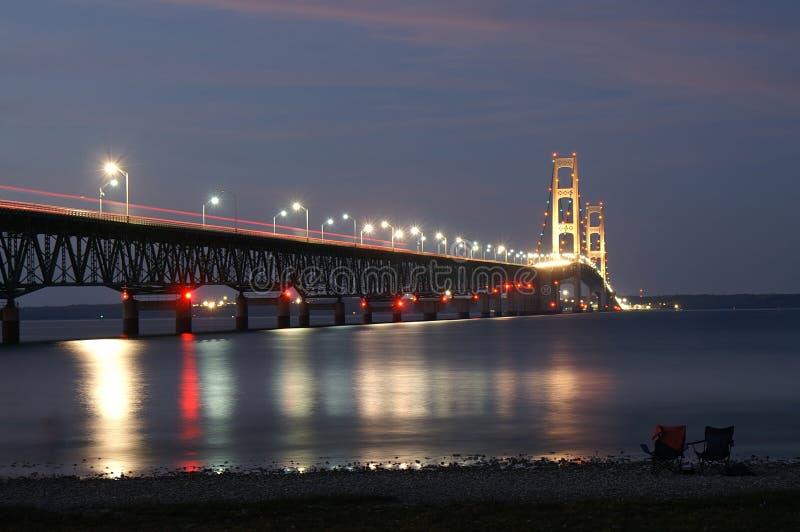 Mackinac Brücke stockfotos