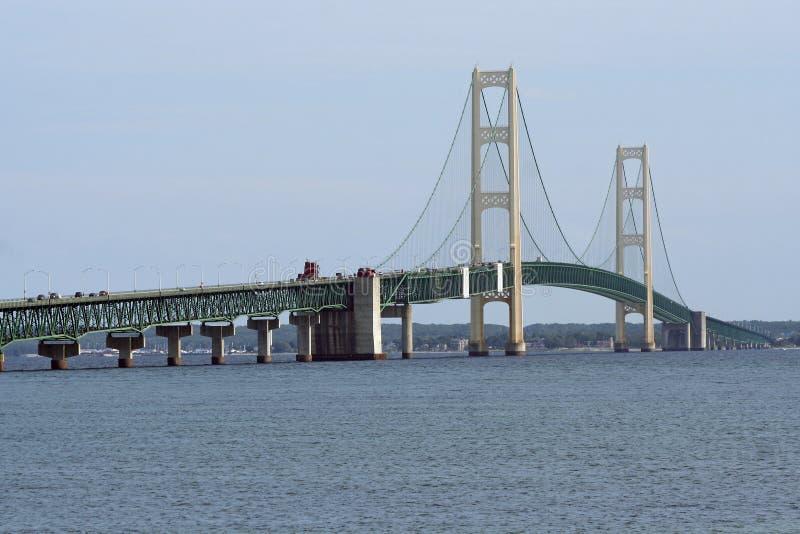 Mackinac Brücke lizenzfreies stockbild