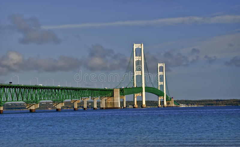 Download Mackinac Bridge, Michigan stock image. Image of peninsula - 16725811