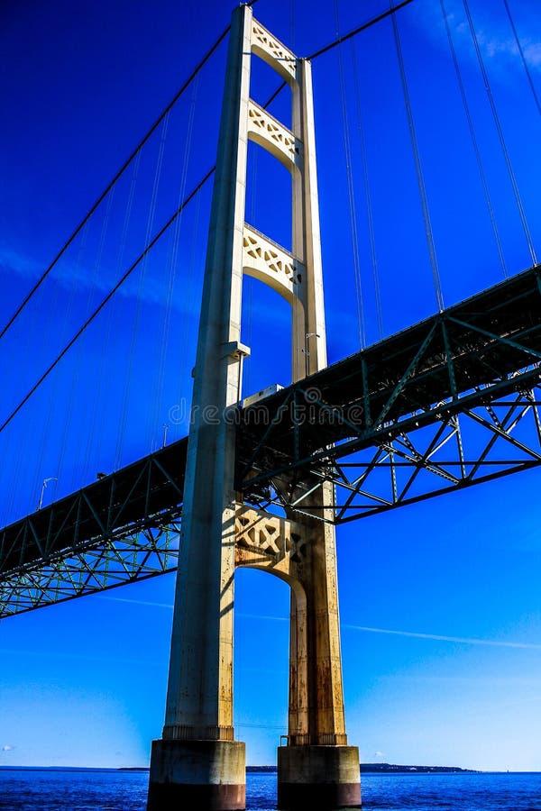 Mackinac most zdjęcie stock