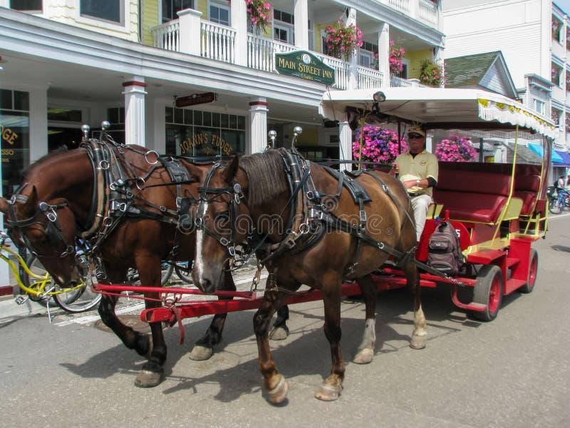 Mackinaceiland royalty-vrije stock foto's