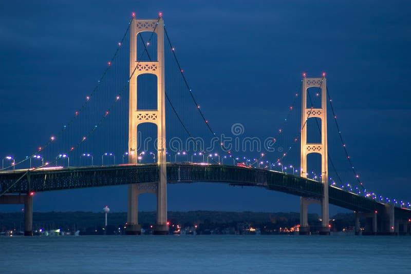 mackinaw моста стоковая фотография rf