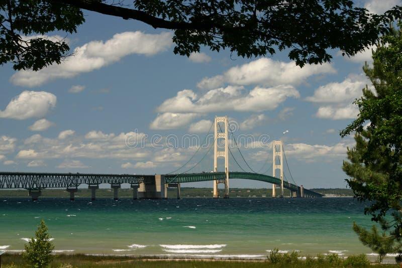 The Mackinaw Bridge royalty free stock photo
