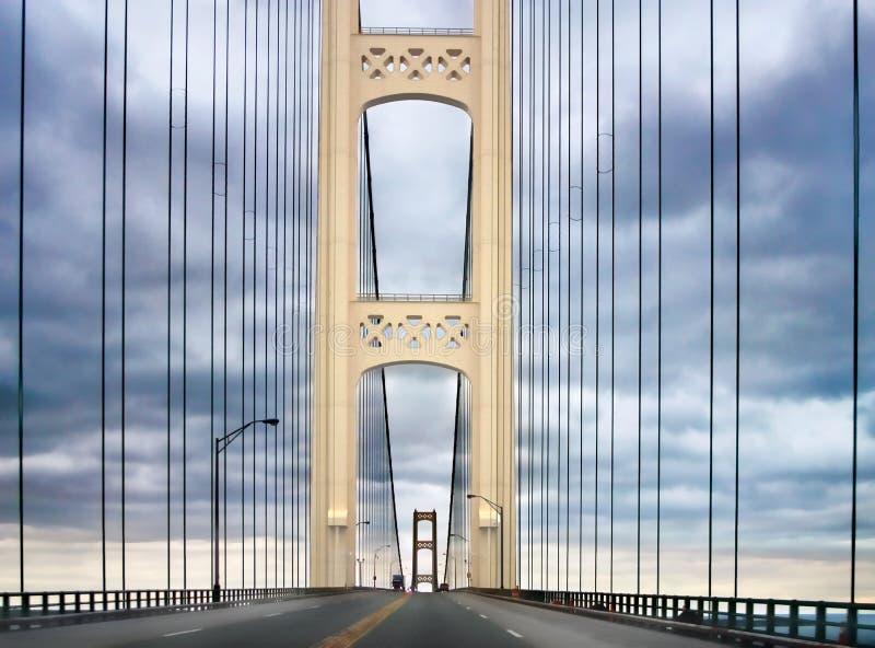 Mackinaw Bridge royalty free stock photo