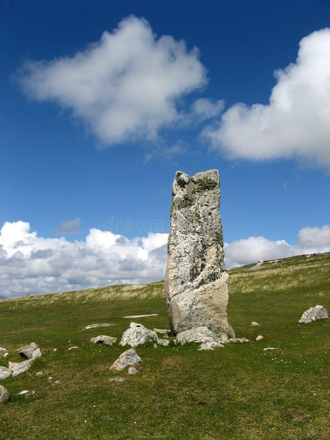 MacLeod en pierre debout photo libre de droits