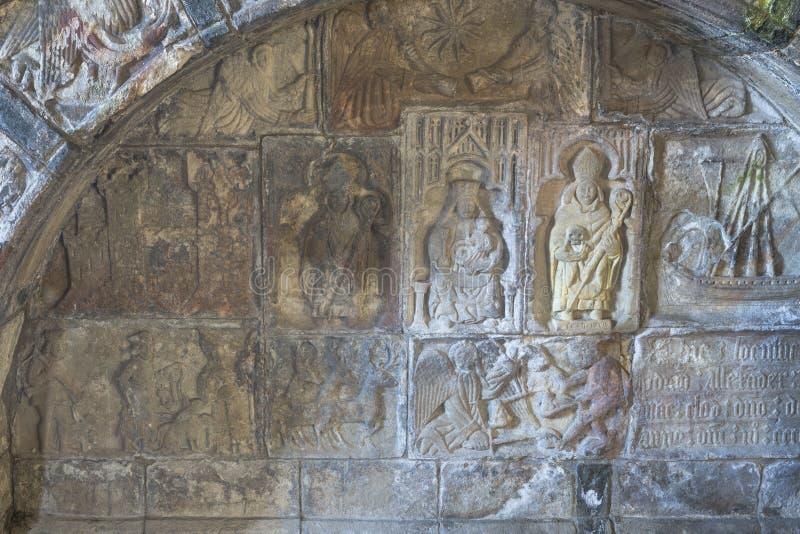 MacLeodgraf bij St Clements in Rodel op het Eiland van Harris royalty-vrije stock afbeeldingen