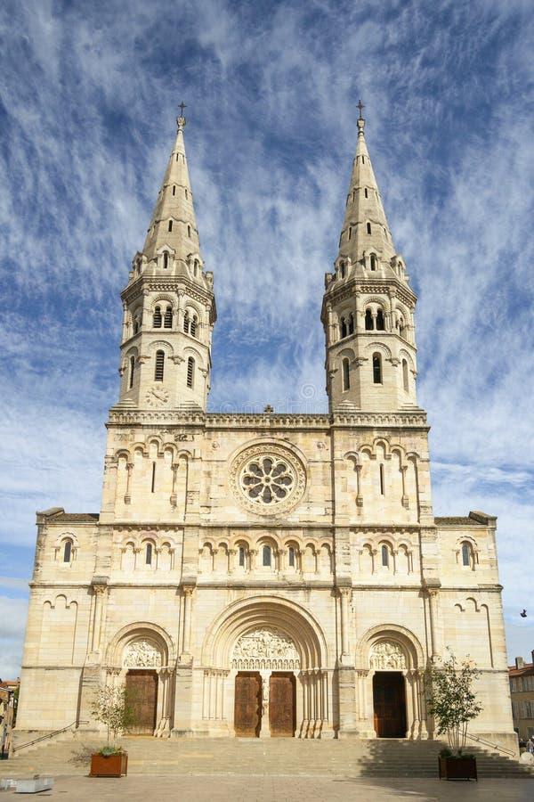 Macon, Francja - St Peters kościół obraz royalty free