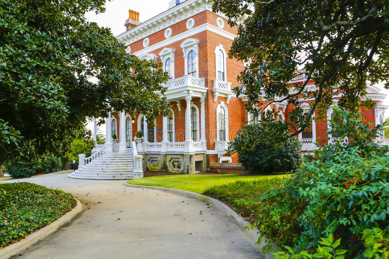 MACON, LA GÉORGIE - 29 OCTOBRE 2013 : Johnston-Felton-Hay House image stock