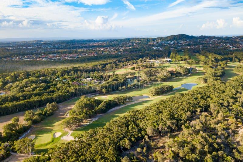 Macquarie portuario Golf Club fotografía de archivo libre de regalías