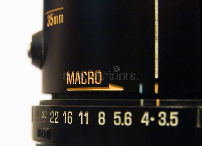 Macro fotografía de archivo