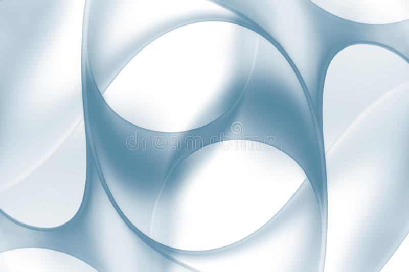 Macro abstract white curved and twisted sheet royalty free stock photography