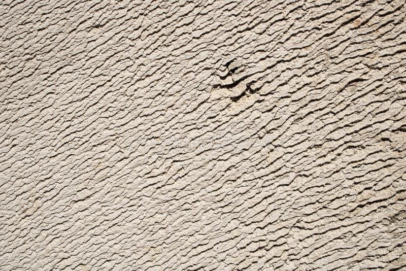 Macro abstrait, plan rapproché d'une brique blanche de vieux silicate dont les textures ressemblent aux dunes du désert photographie stock libre de droits